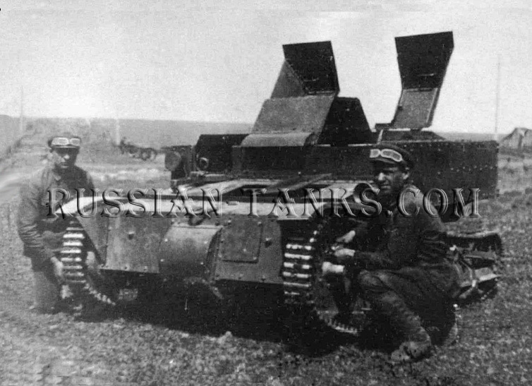 the Soviet Union: Tank T-27 Tankietka, the Red Army
