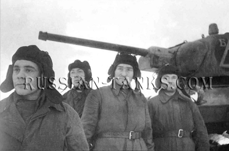 Tank operation: Medium Tank T-34/76, the Red Army