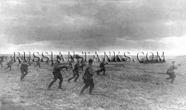 Soviet Armed Force: The Tank riders, Tank T-34 photo 1