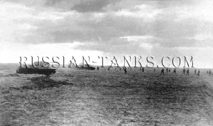 Deep Operations: The Tank riders, Soviet Armed