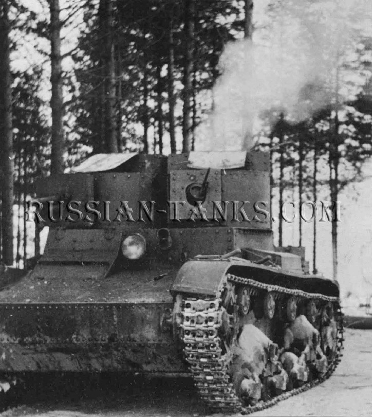 Light Tank: T-26TU, the Red Army, the Soviet Union