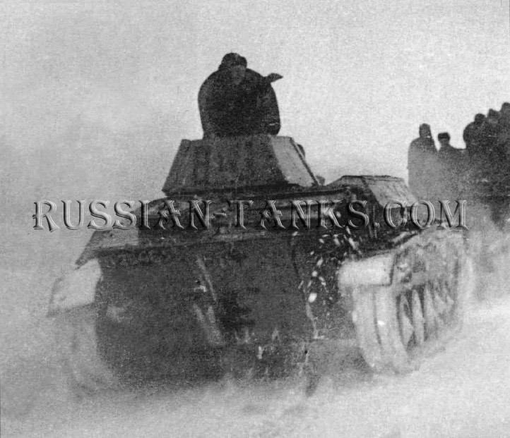 Tank T-70: T-70 Winter 1942-1943 light Soviet tank