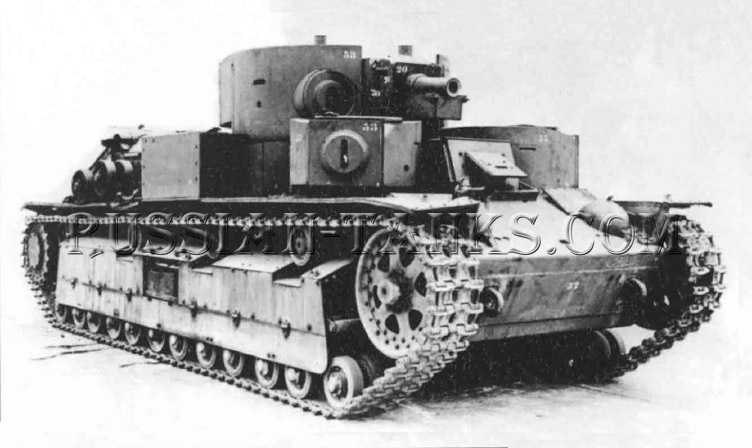 Christie Tanks: T-28 Medium Tank
