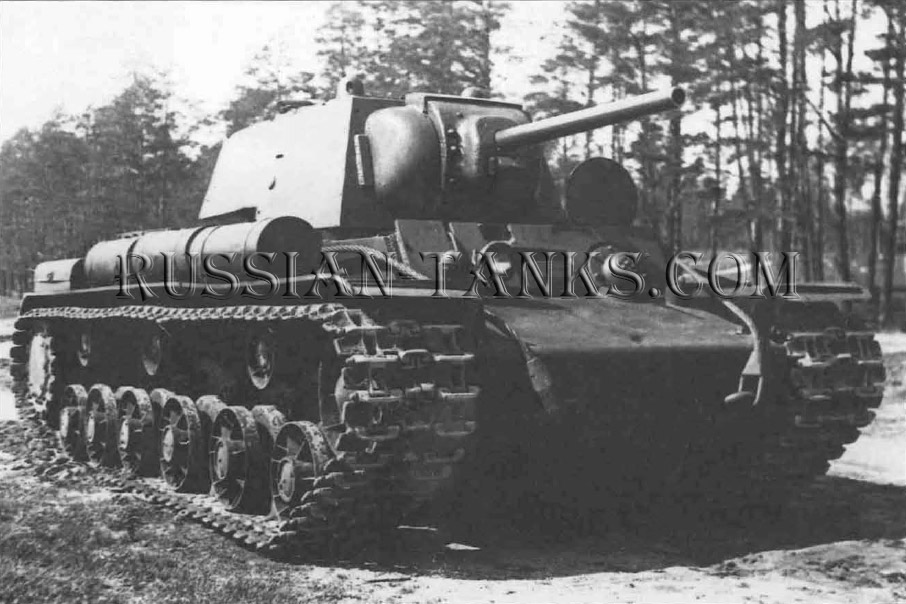 Heavy Tanks: Up-armouring work on the KV-1, the Model 1942, was undertaken by Kotin's TsKV-2 (Central Design Bureau)