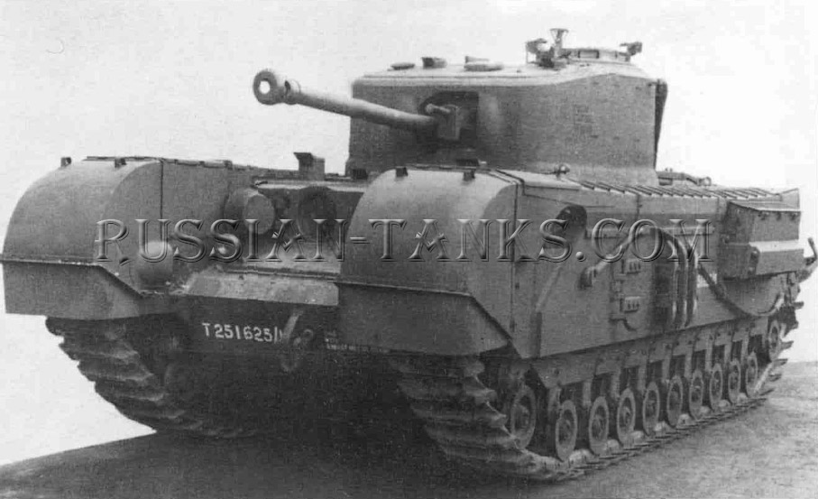British Tank Churchill III