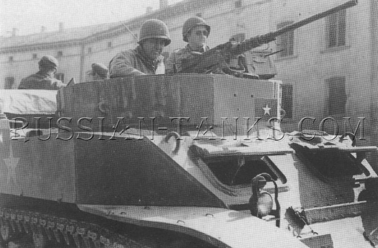 American light armored car M8