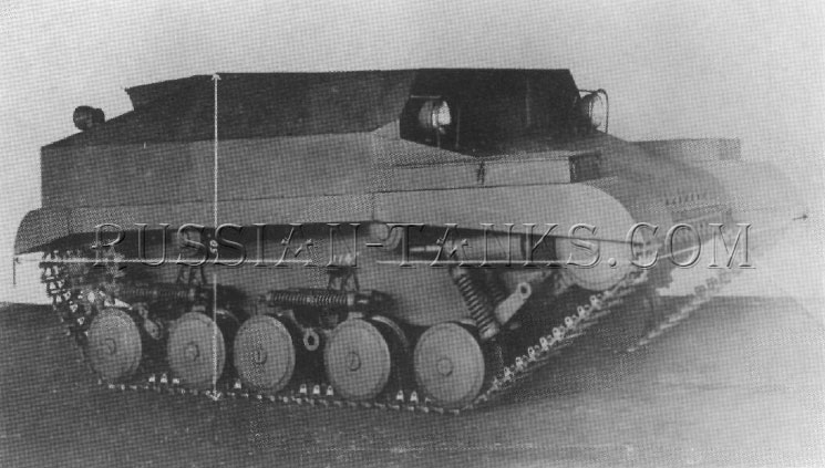 The first Canadian Armored Tracked Jeep produced by Willys Overland