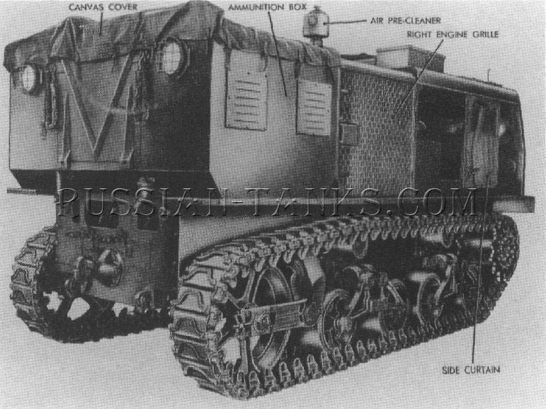 American high speed tractor M4