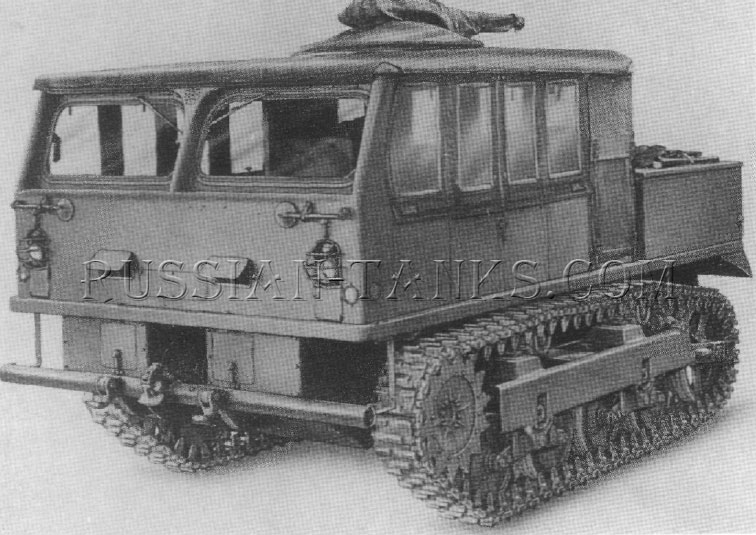 American high speed tractor M5A1