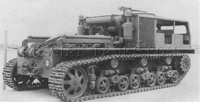 American heavy tractor T22