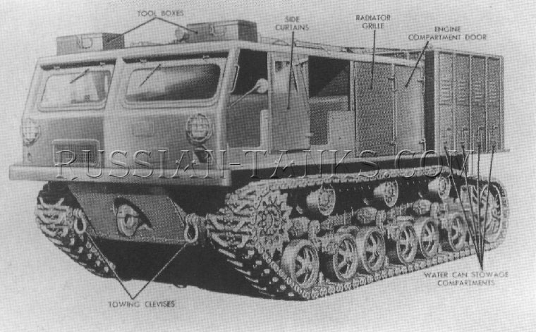 American high speed tractor M6