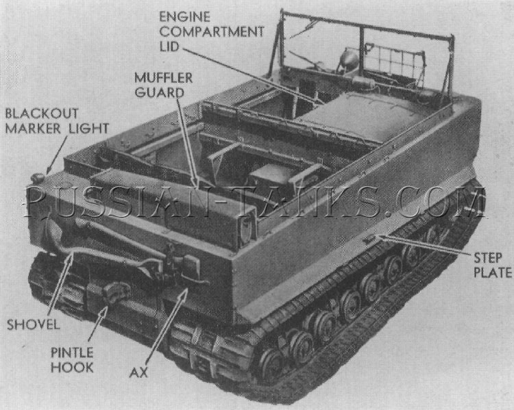 American cargo carrier M29