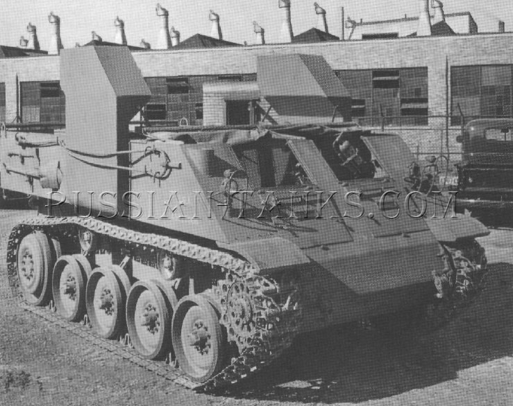 American armored utility vehicle T9
