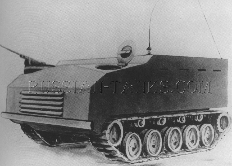 American armored utility vehicle T13
