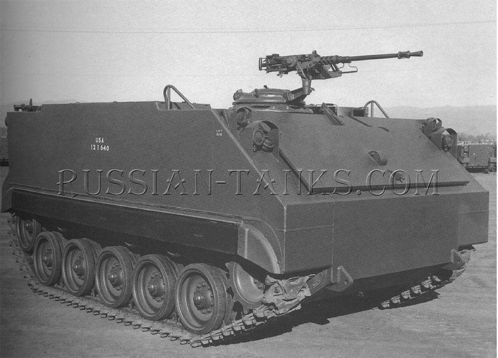 Armored infantry vehicle M59
