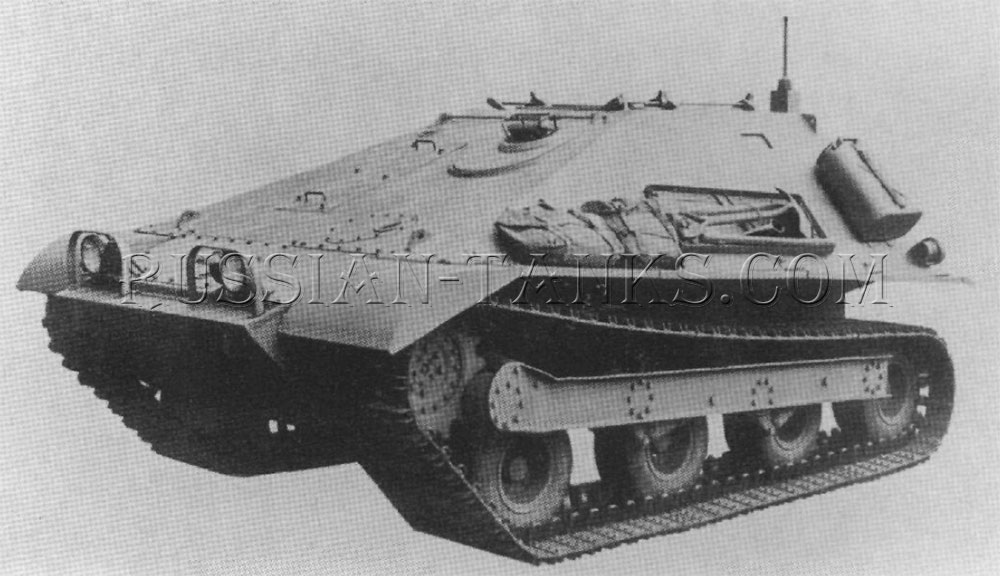 Infantry tracked vehicle T55