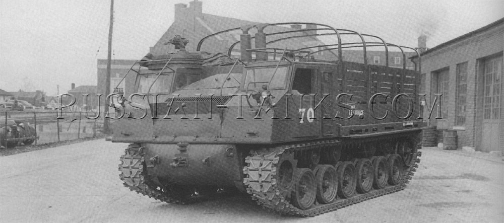 The cargo tractor M8 (T42)