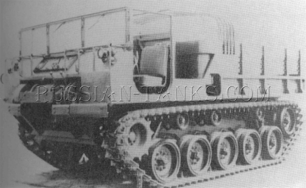 The cargo tractor T85