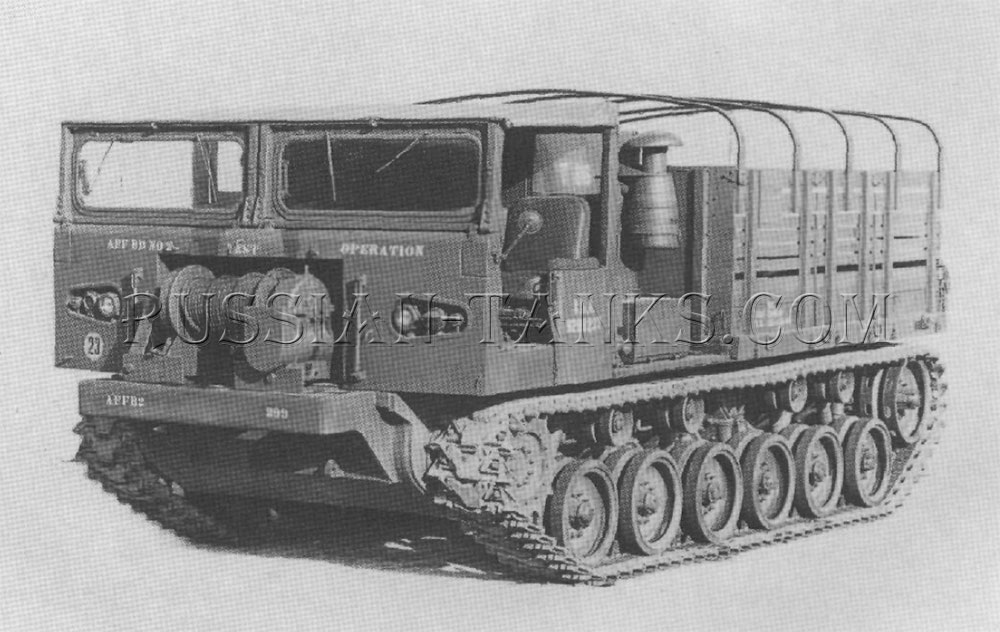 The cargo tractor T86