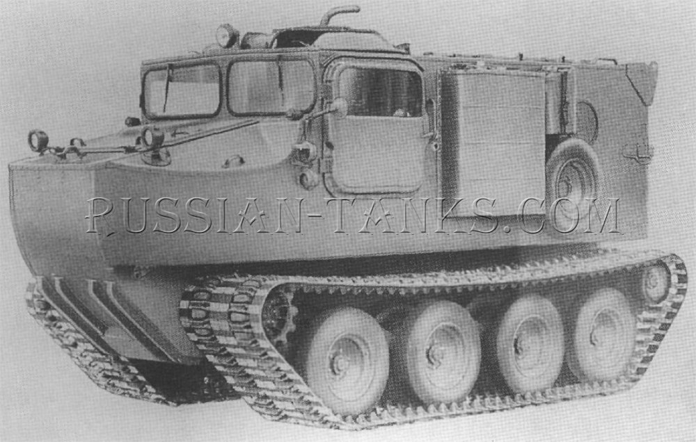 The cargo carrier M76 (T46E1)