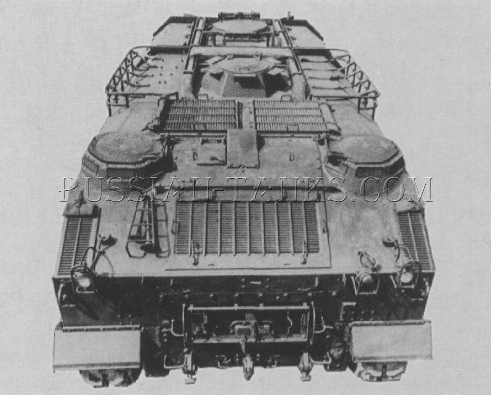 Armored utility vehicle M44E1
