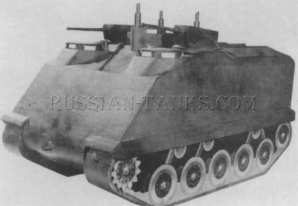 American armored utility vehicle T18
