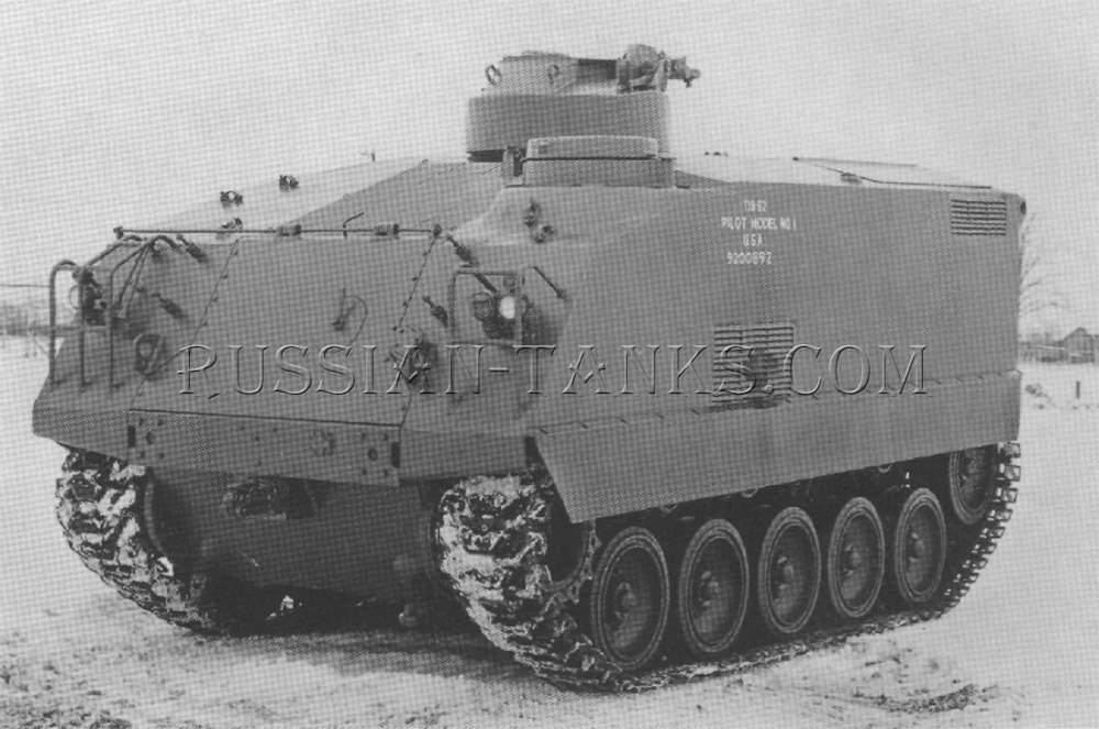 American armored utility vehicle T18E2