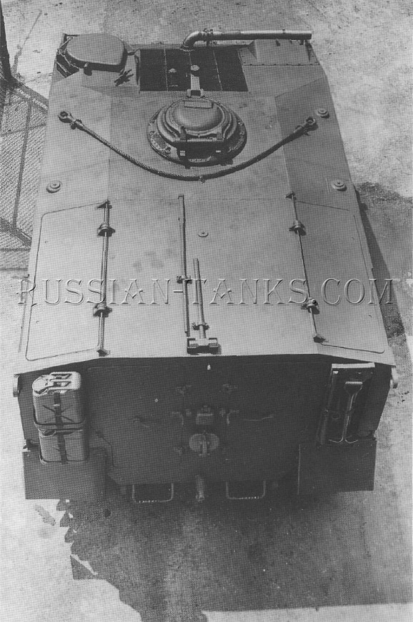 American armored utility vehicle T18E1