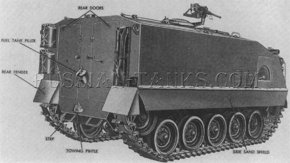 American armored utility vehicle M75