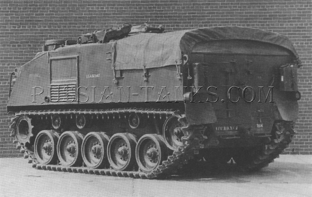 American tracked carrier T64