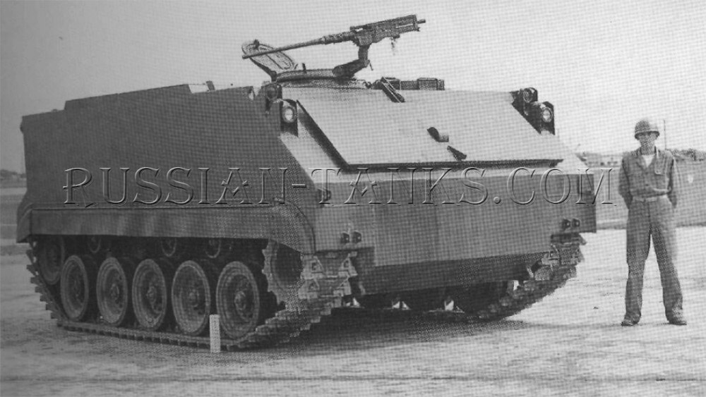 Armored infantry vehicles T59