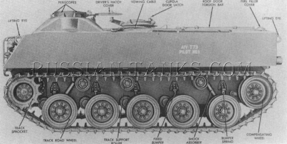 The armored infantry vehicle T73