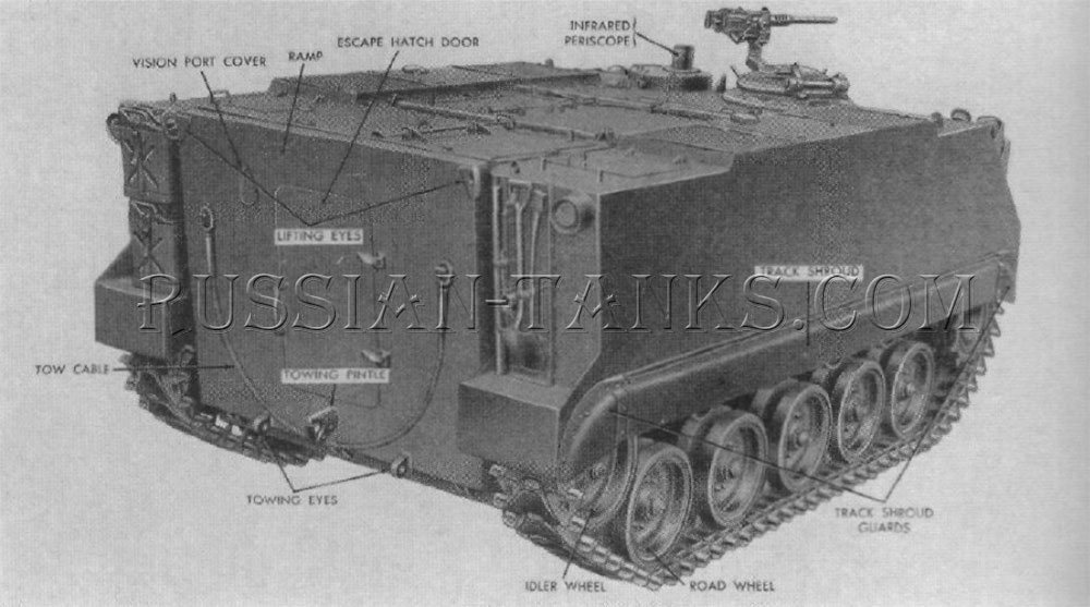 The armored infantry vehicle M59