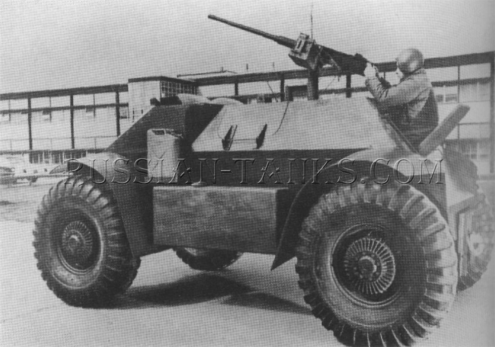 The personnel carrier T115