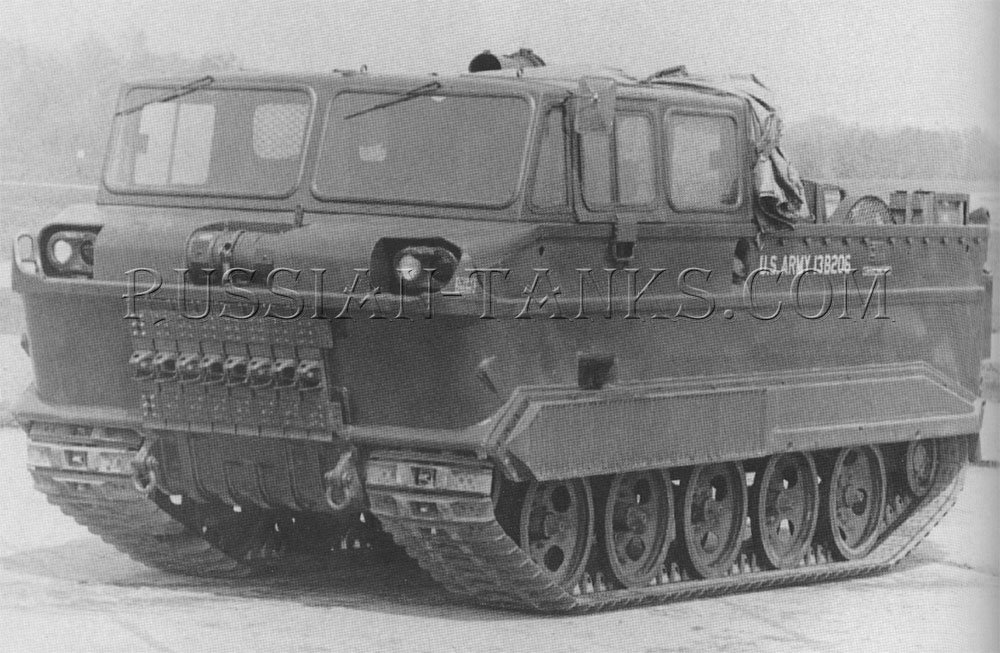 The amphibian cargo carrier M116