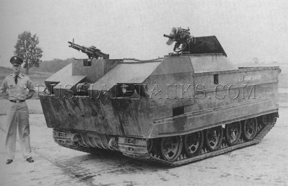 The armored cargo carrier M116