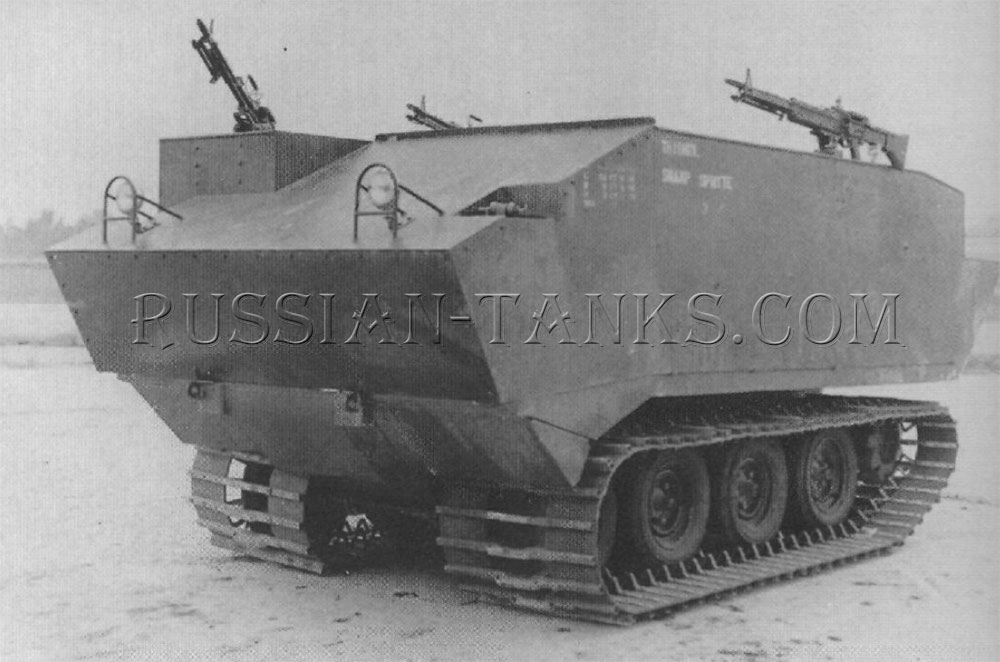 The armored carrier XM733
