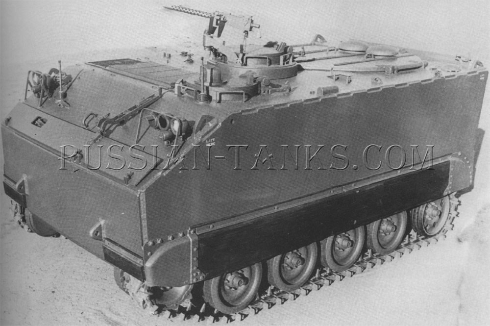 The armored personnel carrier T113