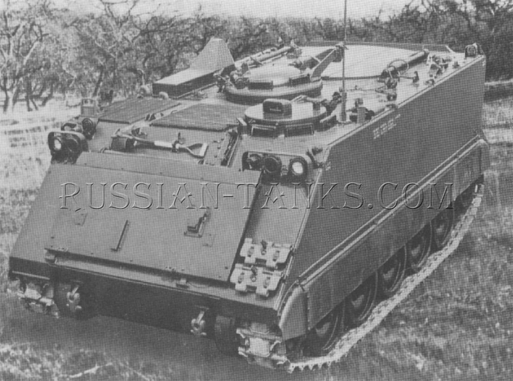The armored carrier M125A2