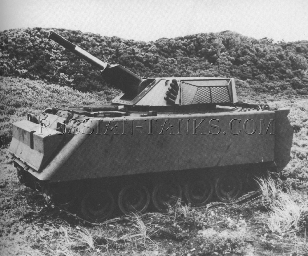 The armored personnel carrier M113A2