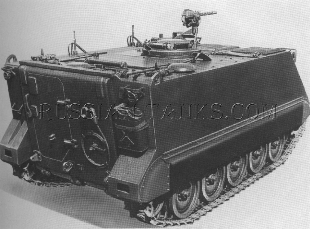 The armored personnel carrier T113E1