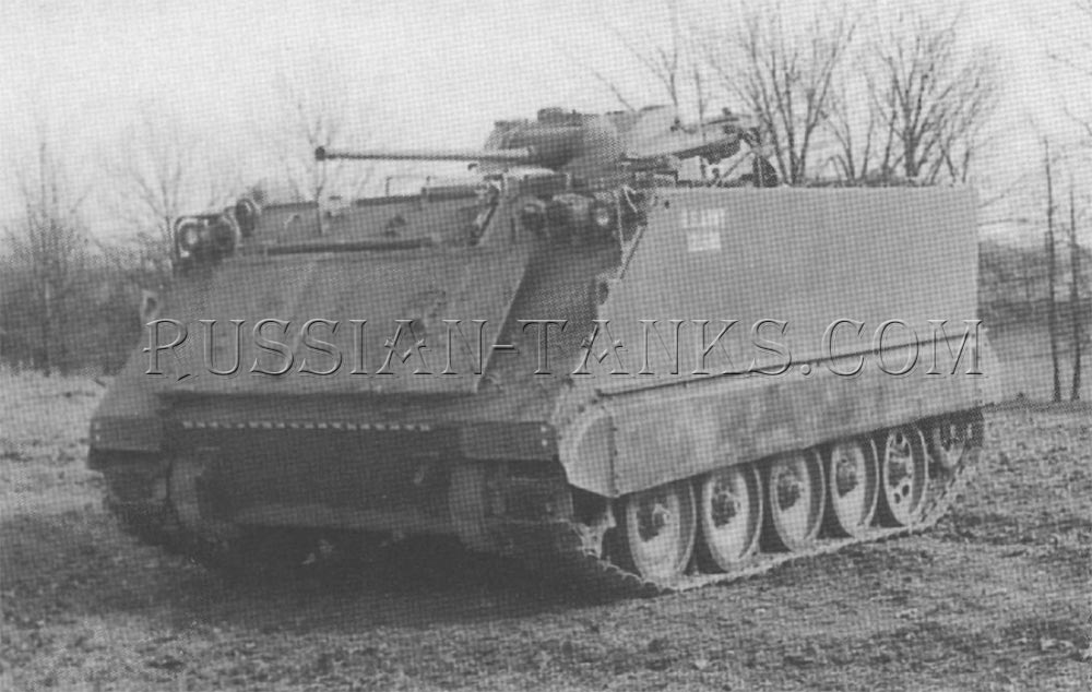 M113 with turret type 763 Hispano Suiza 20mm gun