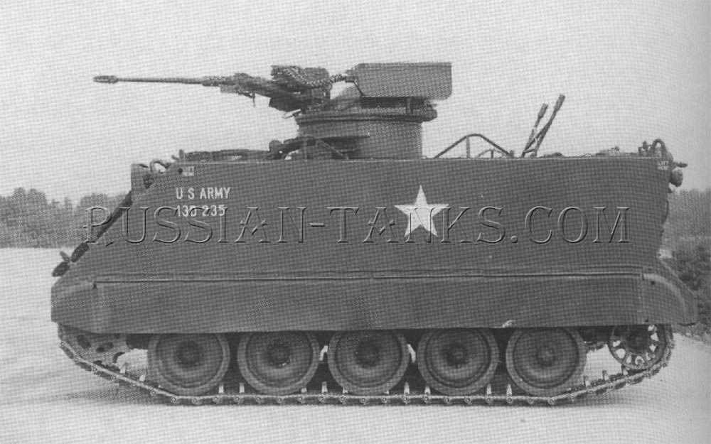 M113 with the General Electric version of the Oerlikon 20mm gun