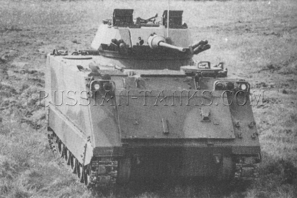The M113 with the LAV 25 turret