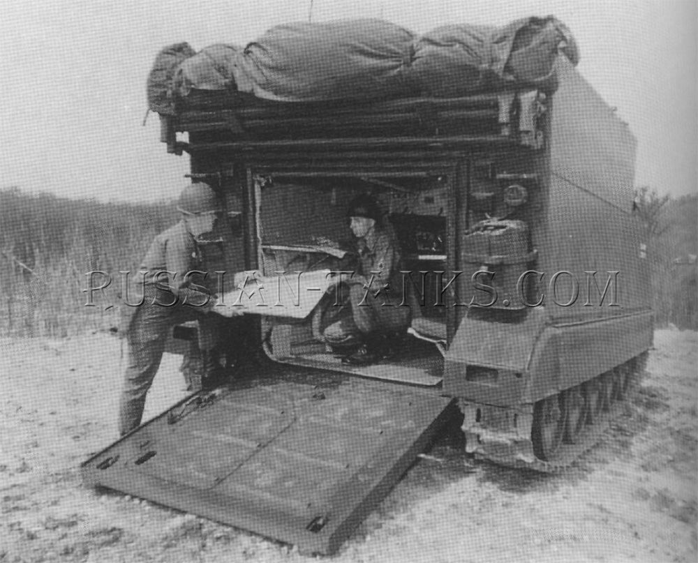 The command post carrier M577