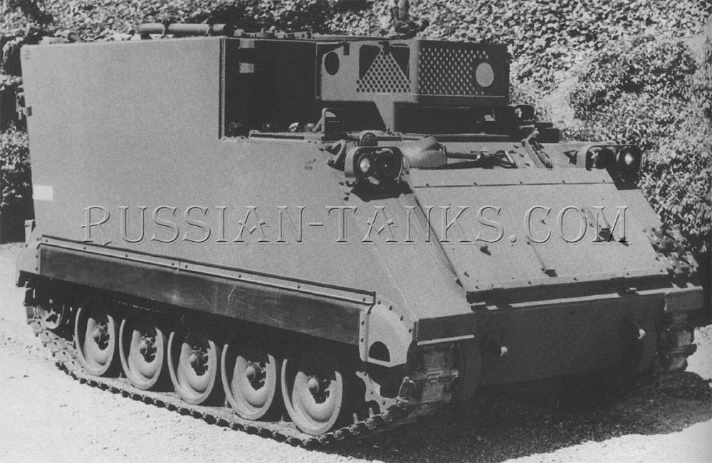 The command post carrier M577A3