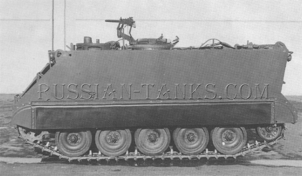 The armored personnel carrier T113E2