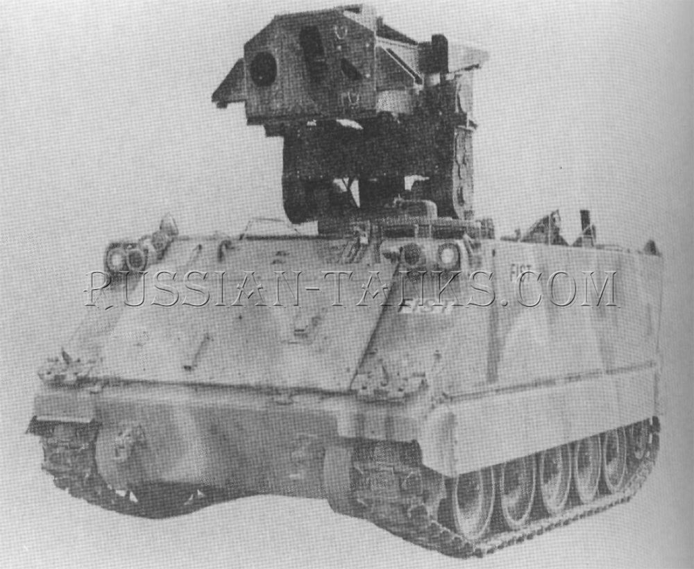 Armored personnel carrier FIST-V at Emerson Electric Company