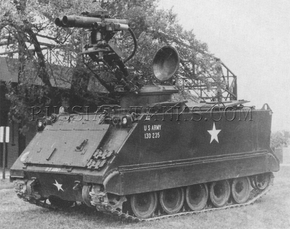 The armored cavalry TOW vehicle