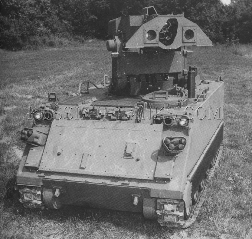 The M901 TOW vehicle
